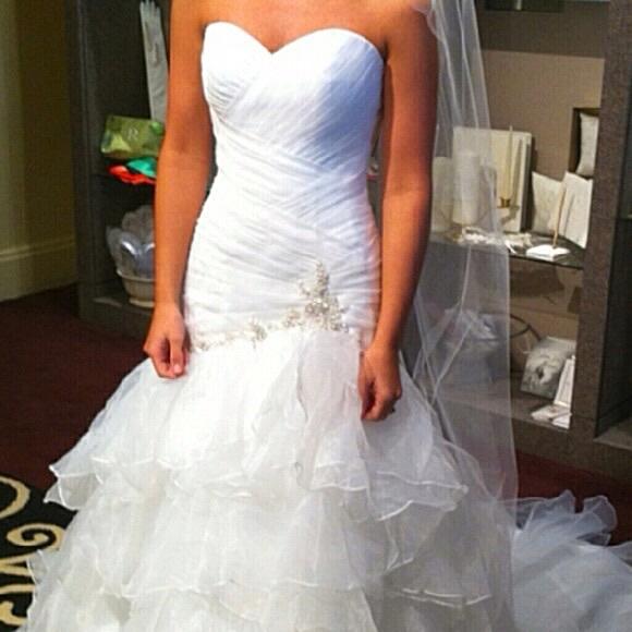 Forever Yours Dresses   Never Worn Wedding Dress   Poshmark